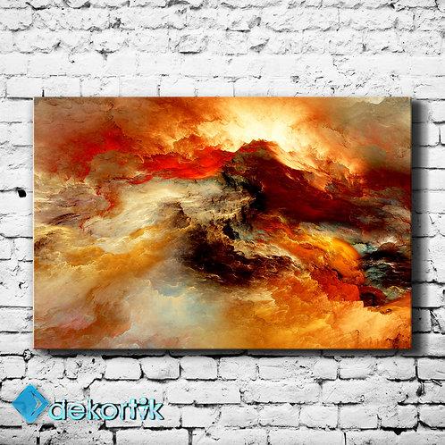 Red Cloud Kanvas Tablo