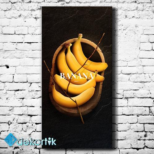Vrt Banana Kanvas Tablo