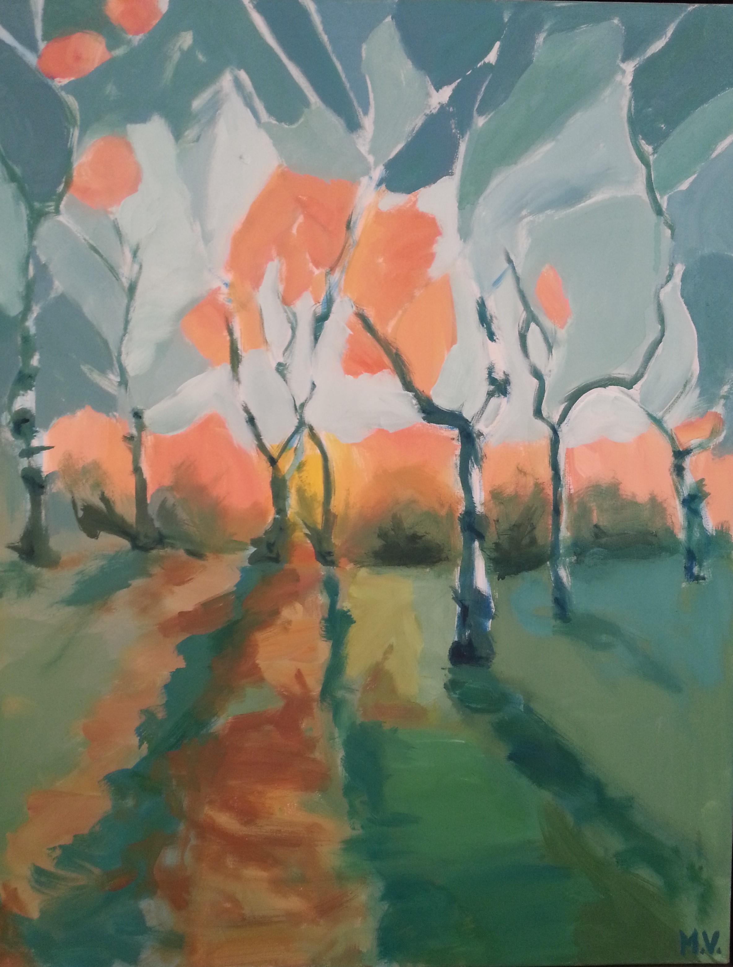 2011, 70 x 90, akryl på lærred