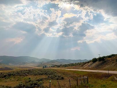 Farmlands, rural Colorado