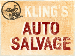 Klings Auto Sign
