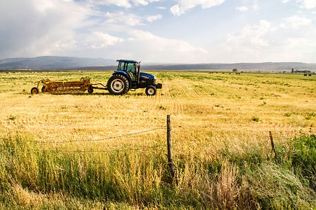 Farmlands in rural CO