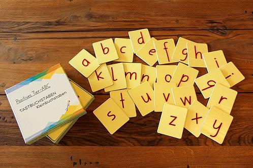 Tastbuchstaben: Kleinbuchstaben