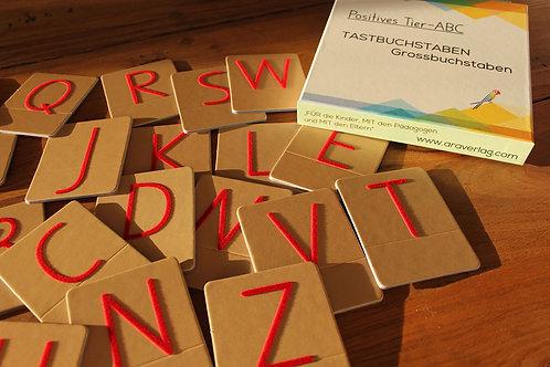 Tastbuchstaben: Grossbuchstaben