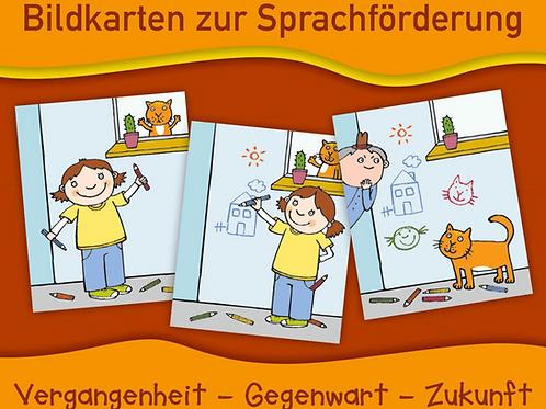 Bildkarten zur zeitlichen Orientierung (zur Kompetenz 3.1)
