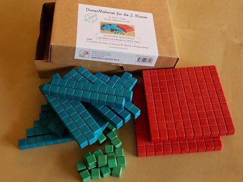 Montessori-Dienes für die 2. Klasse