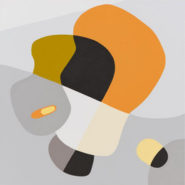 Two Steps Forward, acrylic on canvas, 56