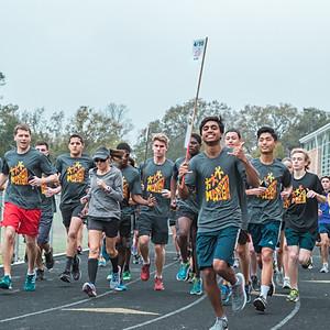 11 Mile Group Run at Lee HS