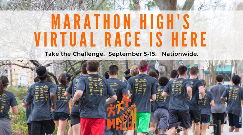 Marathon High's virtual race challenge.p