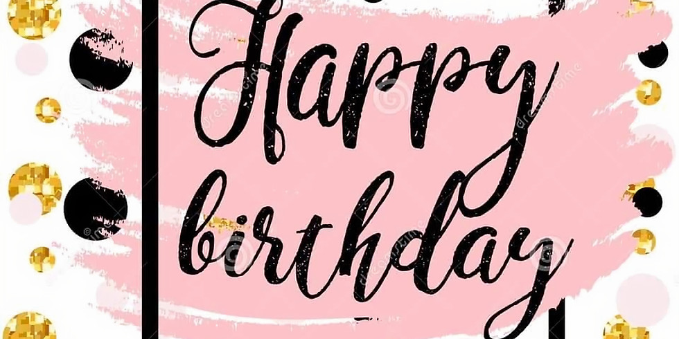 Pink Black and gold 17th birthday celebration