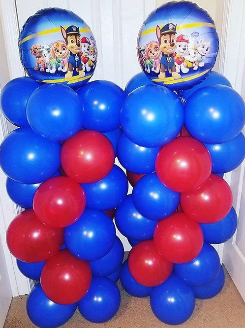 2 Regular Balloon columns