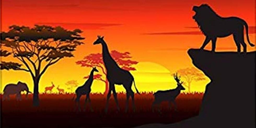 African safari baby shower