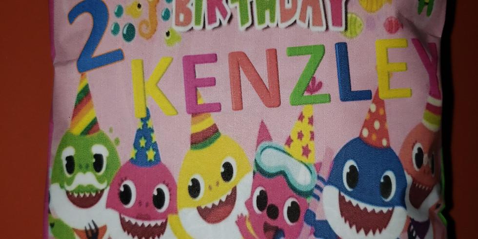 Kenzley's baby shark customizations
