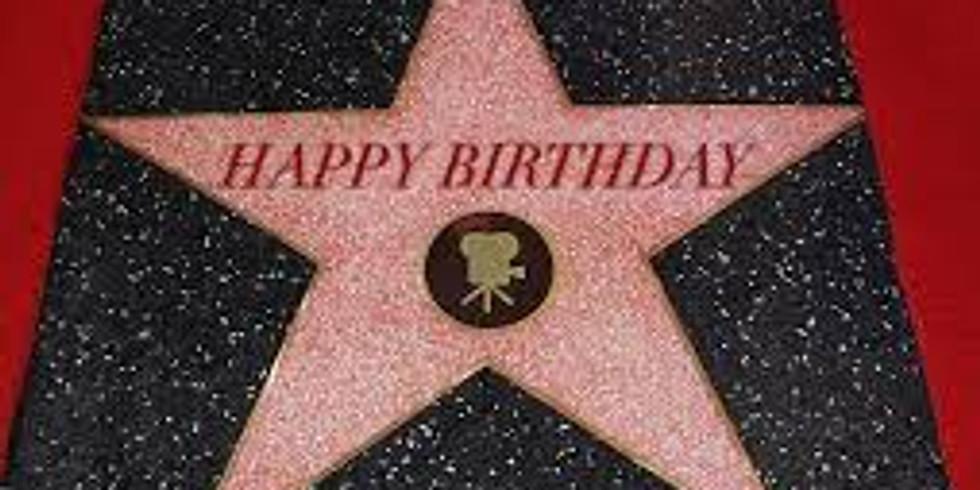 Hollywood themed 7th birthday celebration