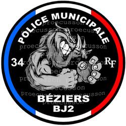 POLICE MUNICIPALE BÉZIERS BJ2