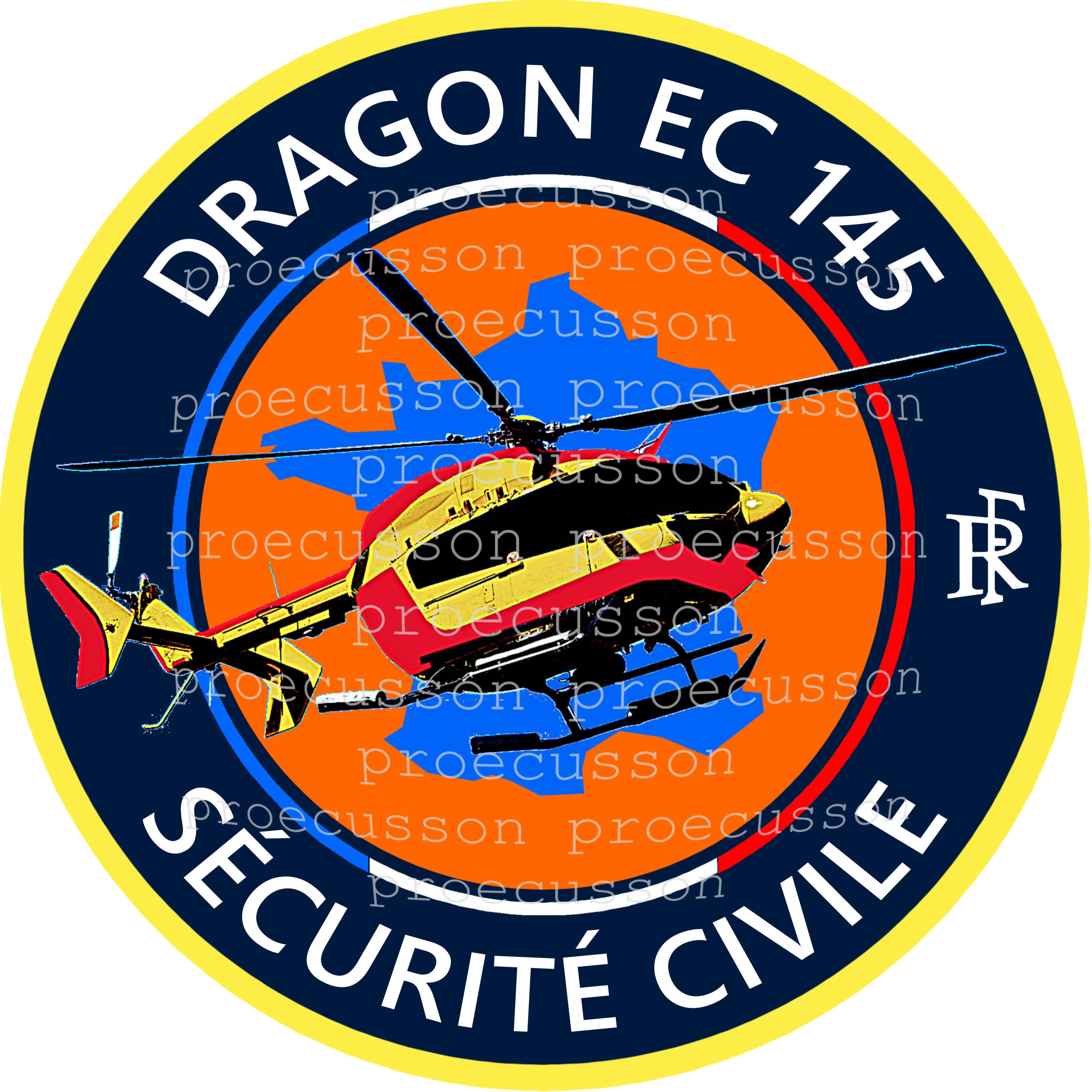 DRAGON EC 145 SÉCURITÉ CIVILE