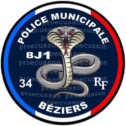 POLICE MUNICIPALE BÉZIERS BJ1
