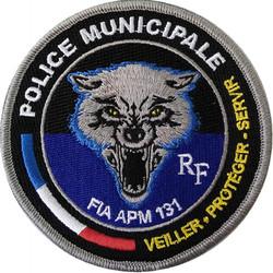 ÉCUSSON POLICE MUNICIPALE FIA