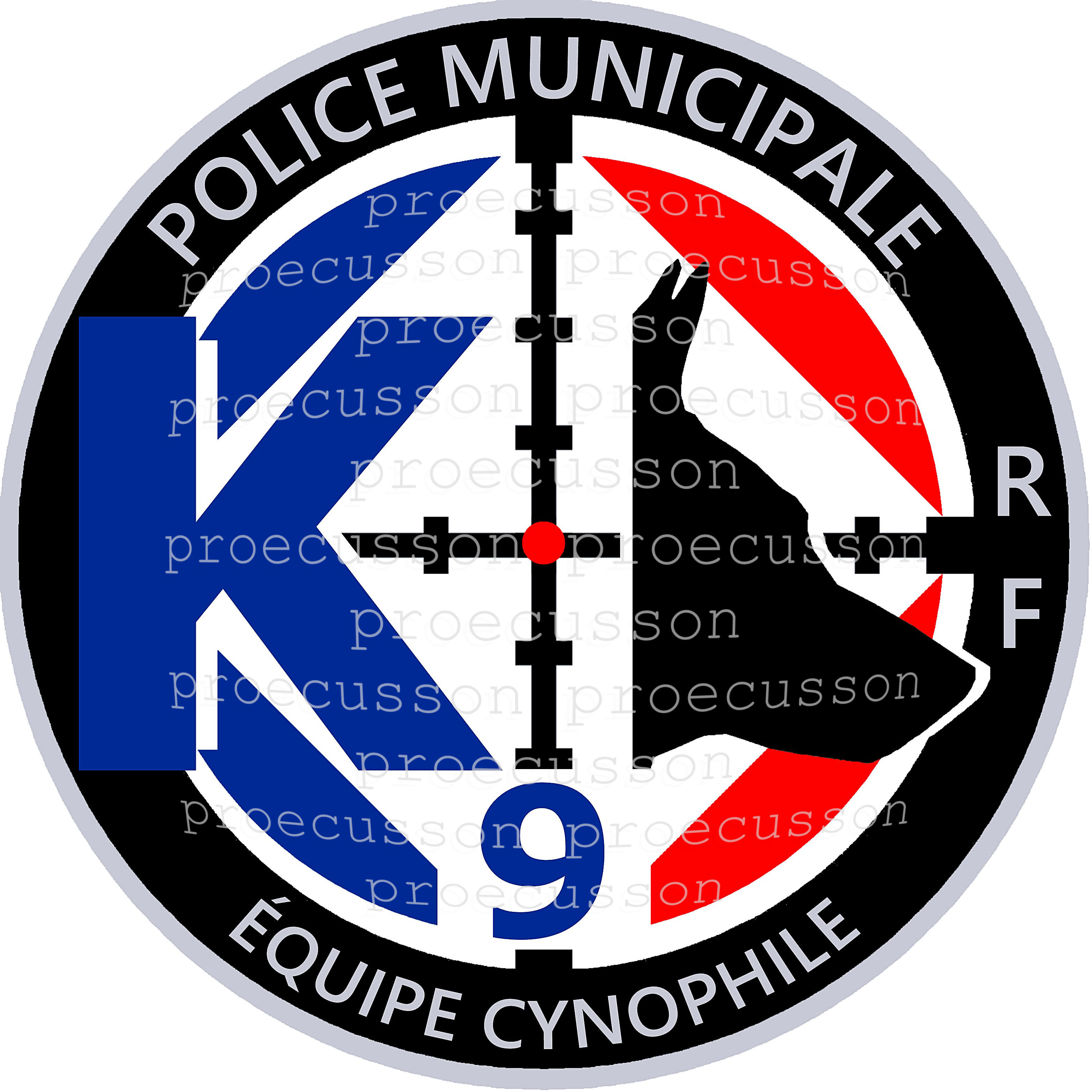POLICE MUNICIPALE ÉQUIPE CYNOPHILE K9