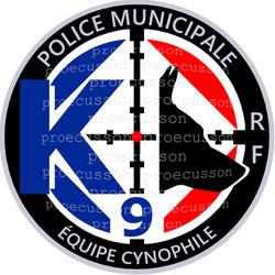 POLICE MUNICIPALE ÉQUIPE CYNOPHILE K9