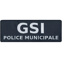 PATCH POLICE MUNICIPALE GSI