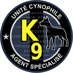 UNITÉ CYNOPHILE AGENT SPÉCIALISÉ K9