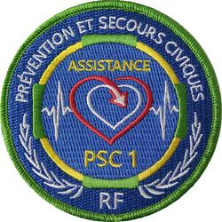 ÉCUSSON ASSISTANCE PSC1