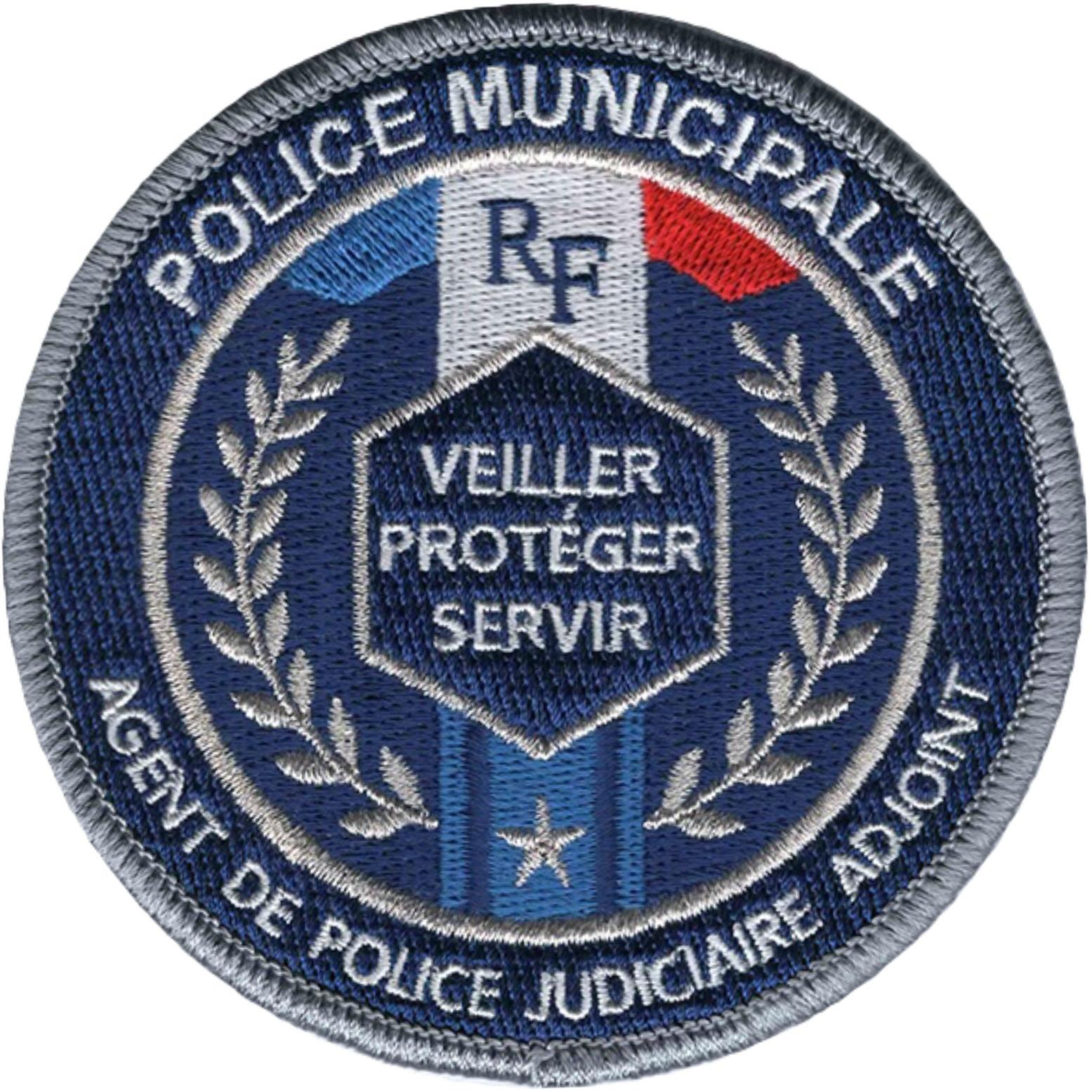 ÉCUSSON POLICE MUNICIPALE APJA