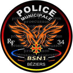 POLICE MUNICIPALE BÉZIERS BSN1