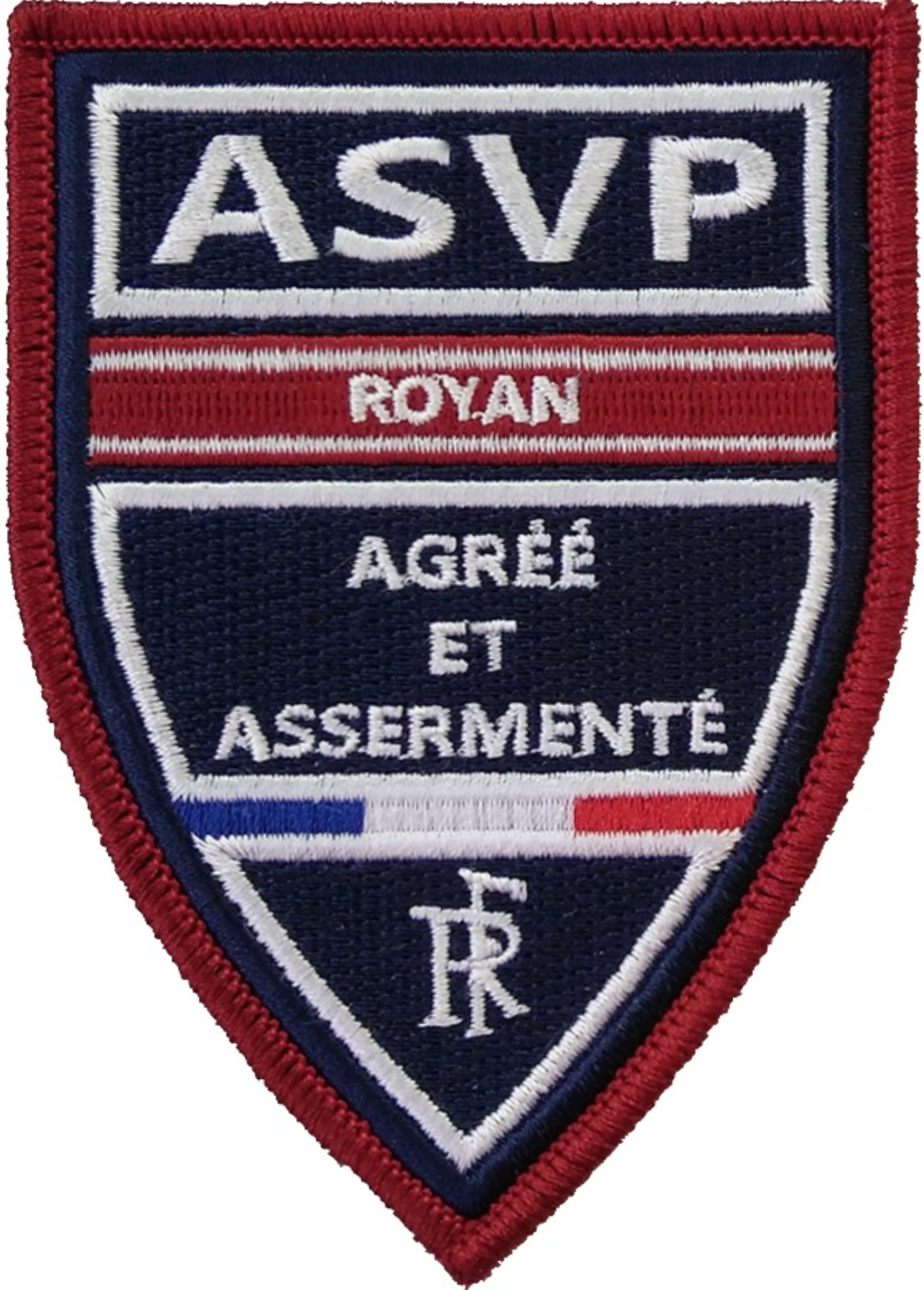ÉCUSSON ASVP ROYAN