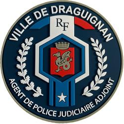 ÉCUSSON POLICE MUNICIPALE DRAGUIGNAN