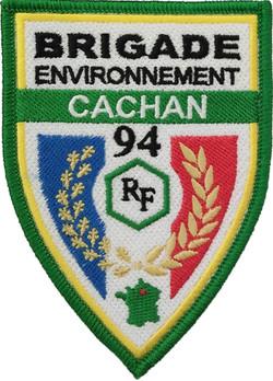 ÉCUSSON BRIGADE ENVIRONNEMENT CACHAN
