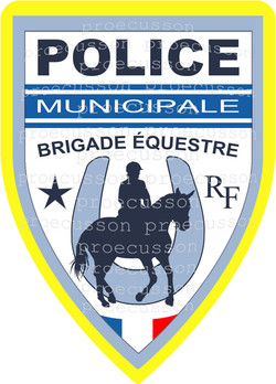POLICE MUNICIPALE BRIGADE ÉQUESTRE