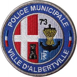 ÉCUSSON POLICE MUNICIPALE ALBERTVILLE