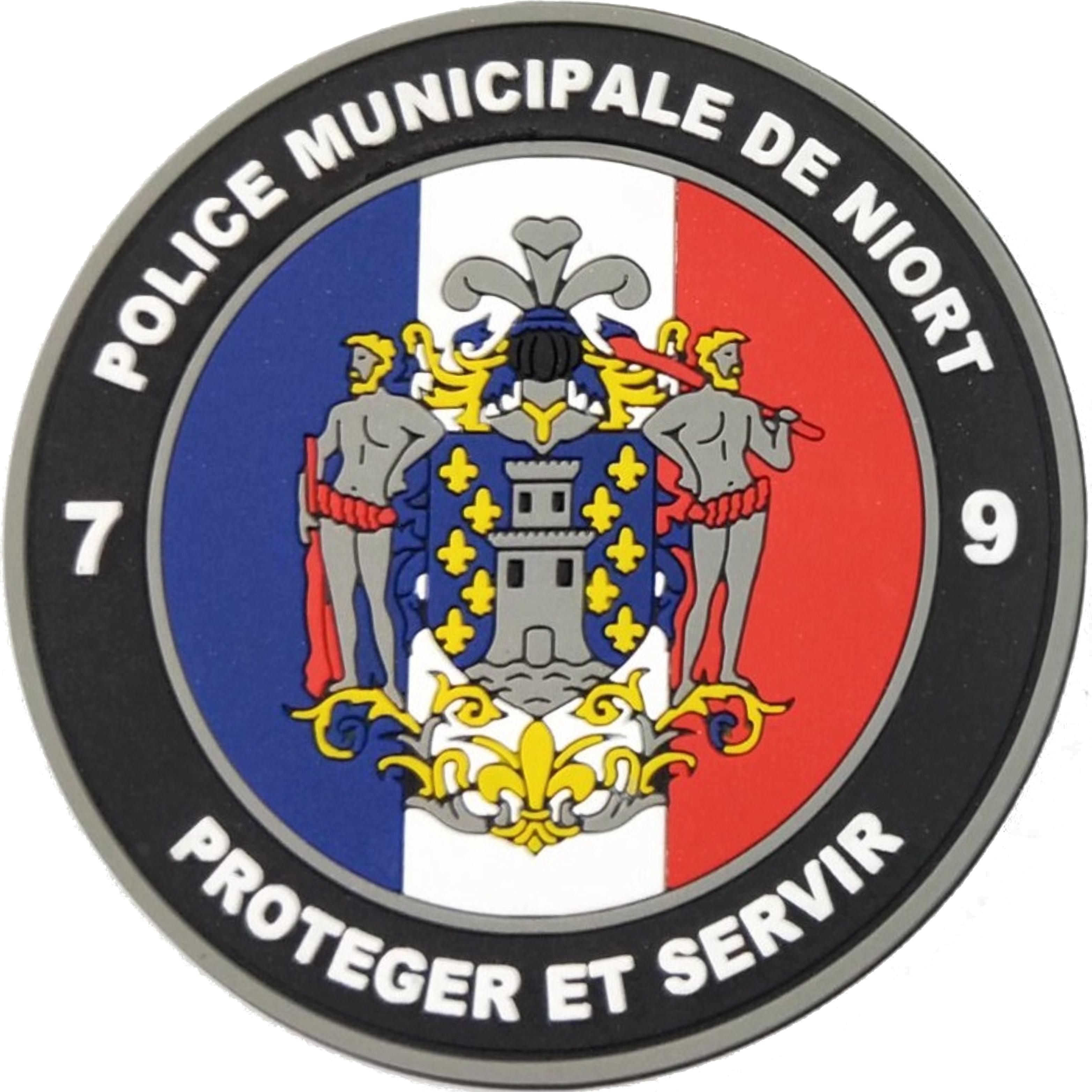 ÉCUSSON POLICE MUNICIPALE NIORT