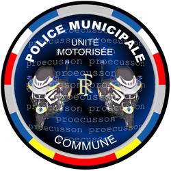 POLICE MUNICIPALE UNITÉ MOTORISÉE