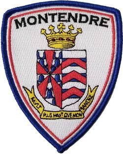 ÉCUSSON POLICE MUNICIPALE MONTENDRE