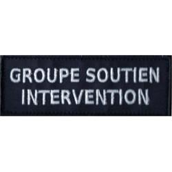 PATCH POLICE MUNICIPALE GROUPE SOUTIEN INTERVENTION