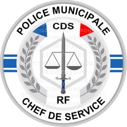 POLICE MUNICIPALE CHEF DE SERVICE CDS