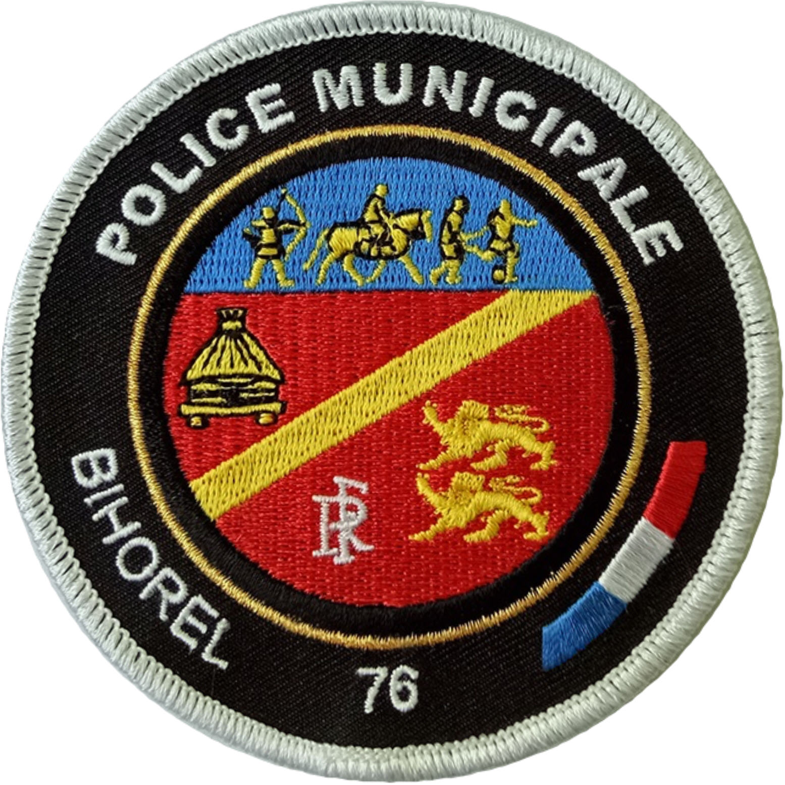 ÉCUSSON POLICE MUNICIPALE BIHOREL