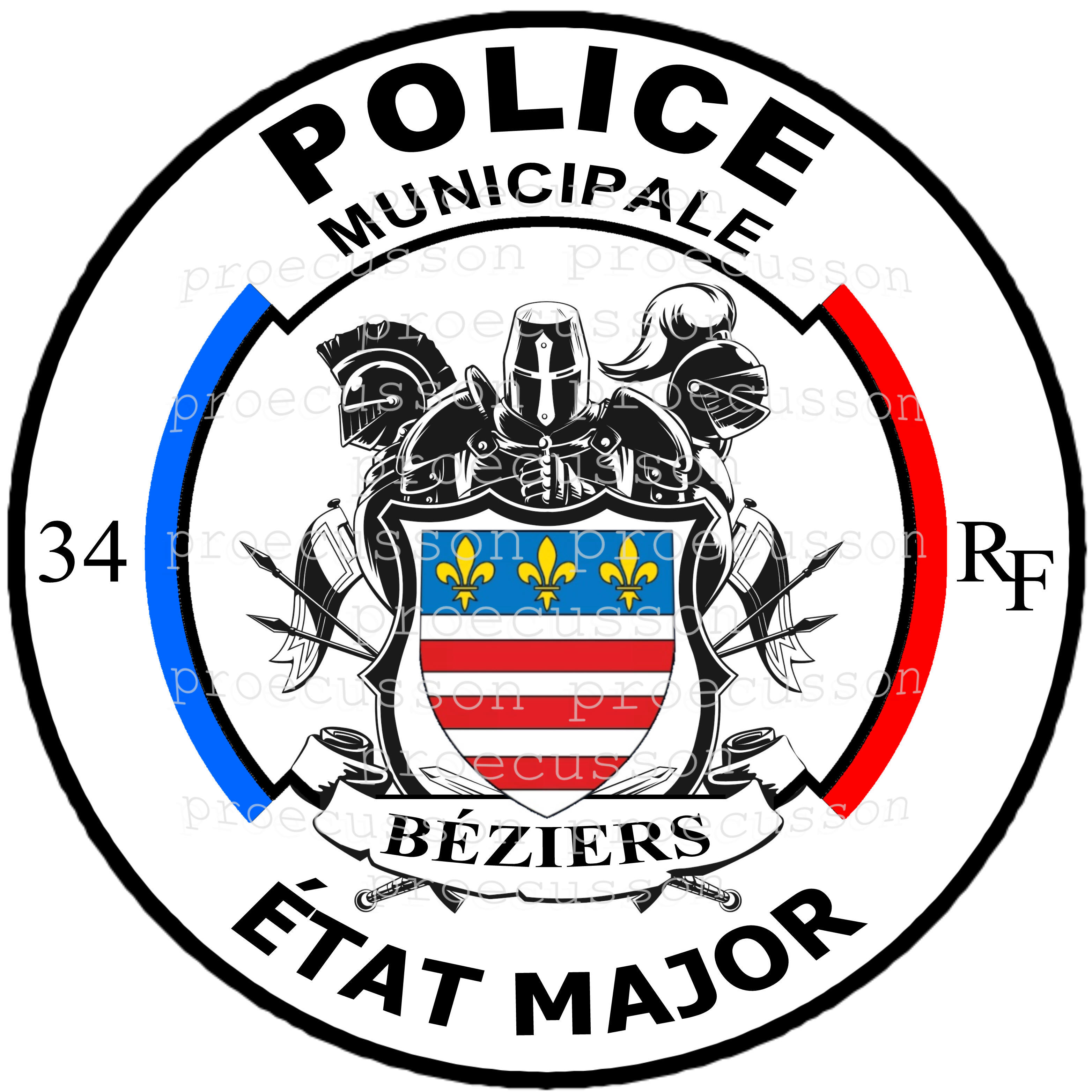 POLICE MUNICIPALE BÉZIERS ÉTAT MAJOR