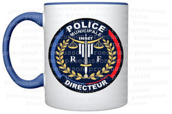 MUG POLICE MUNICIPALE DPM DIRECTEUR