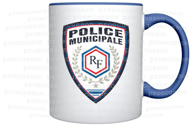 MUG POLICE MUNICIPALE
