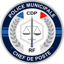 POLICE MUNICIPALE CHEF DE POSTE CDP