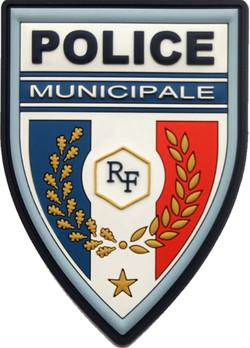 ÉCUSSON POLICE MUNICIPALE