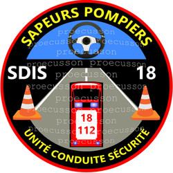 SAPEURS POMPIERS SDIS 18 UNITÉ CONDUITE SÉCURITÉ