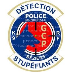 POLICE MUNICIPALE BÉZIERS GCP K9 DÉTECTION STUPÉFIANTS