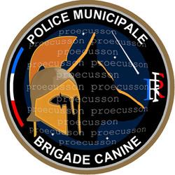 POLICE MUNICIPALE BRIGADE CANINE