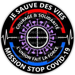 JE SAUVE DES VIES MISSION STOP COVID-19