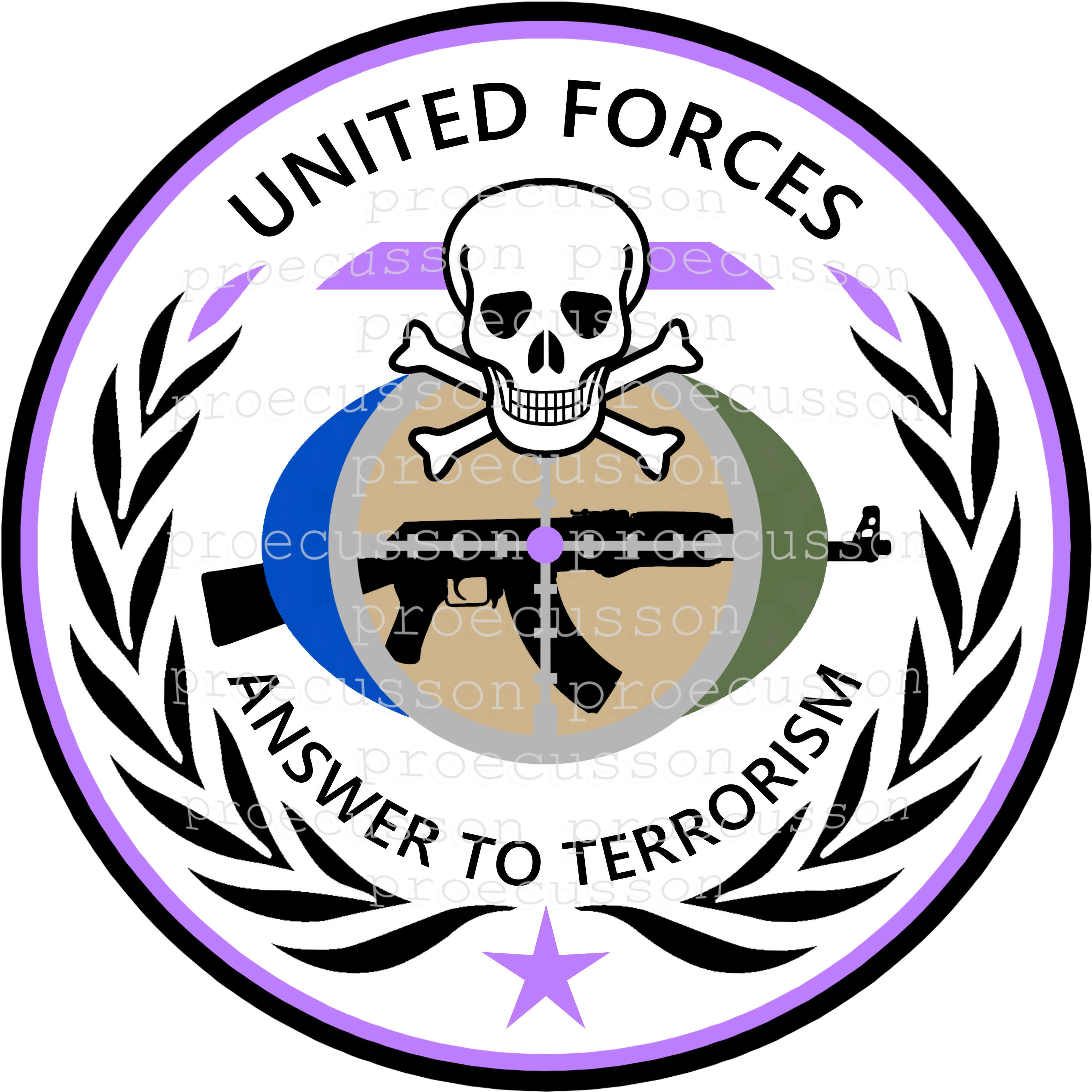 UNITED FORCES ANSWER TO TERRORISM